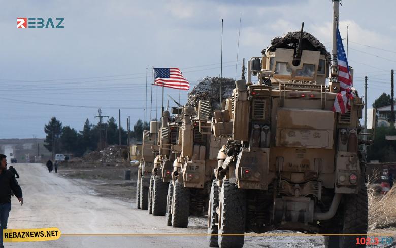 التحالف الدولي يدخل قافلة عسكرية إلى كوردستان سوريا