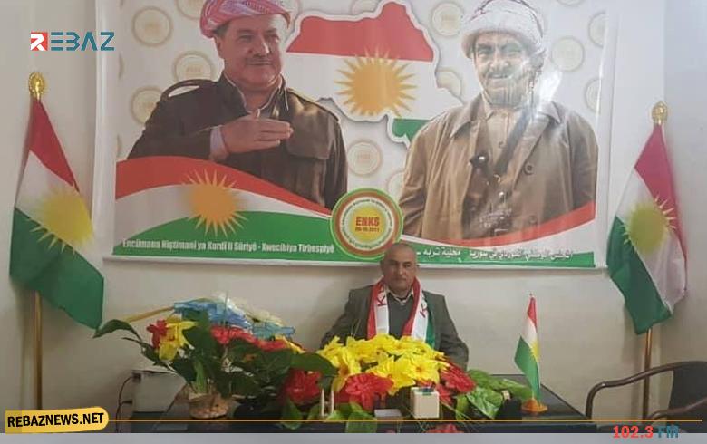 الوطني الكوردي يعيد افتتاح مكتبه في تربه سبي