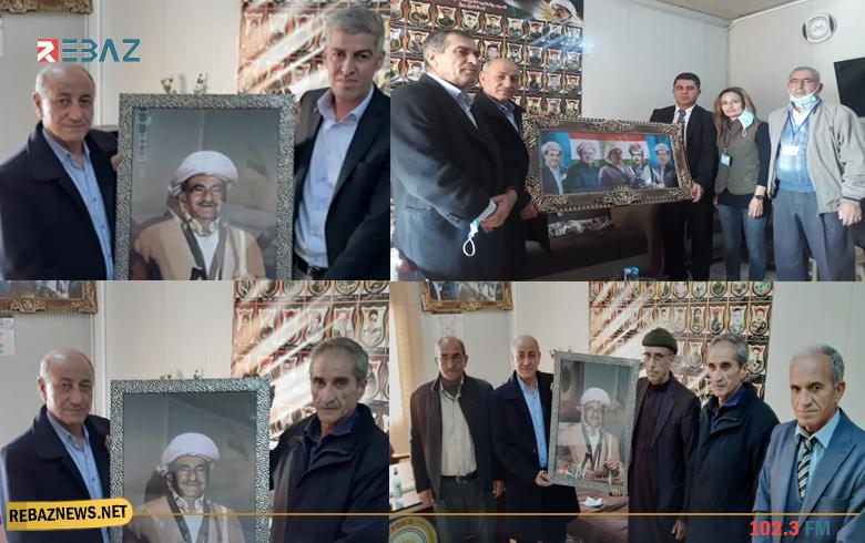 وفود سياسية ووطنية تهنىء المسؤول الجديد لمنظمة دوميز للكوردستاني - سوريا