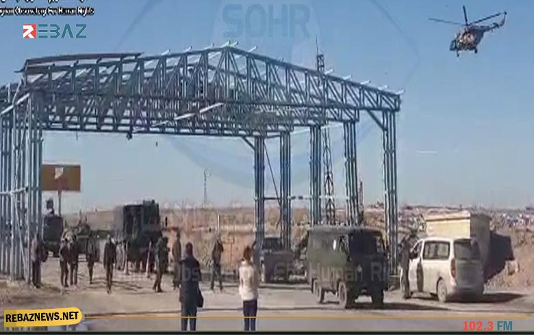 قامشلو.. رتل عسكري تابع للروس وقوات النظام يتجه نحو ريف سري كانييه