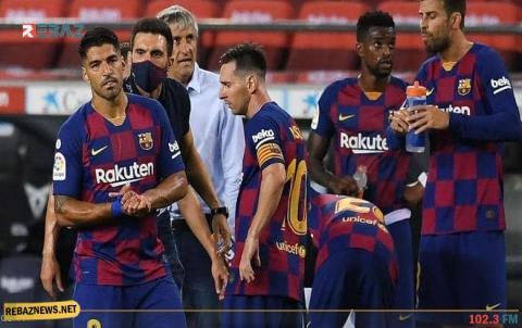 برشلونة يسترضي ميسي ويعرض 80 مليون يورو لضم