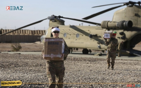 القوات الأميركية تحتفل بعيد الميلاد في سوريا