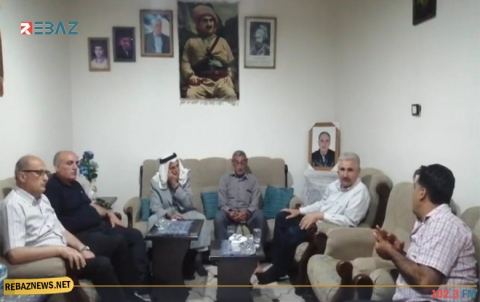 وفد من قيادة PDK-S يزور منزل عائلة المناضل محمد عبدالله
