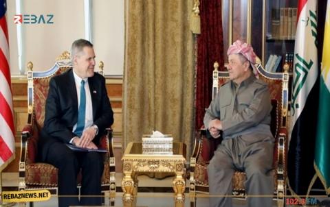 واشنطن تشيد بدور الرئيس بارزاني في التقريب بين الأطراف الكوردية في سوريا
