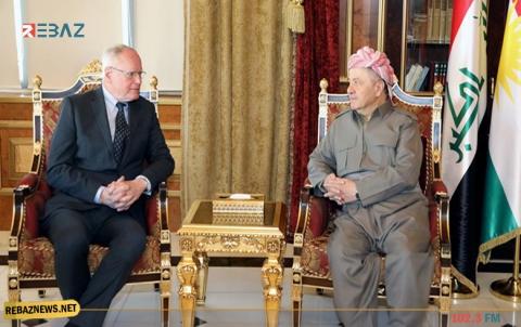 الرئيس بارزاني يجدد لجيفري رفضه لأي تغيير ديمغرافي في كوردستان سوريا