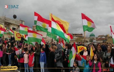 إحياء ذكرى رحيل البارزاني الخالد في كوردستان سوريا