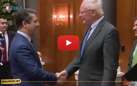 لقاء السيد مسرور بارزاني مع جيمس جيفري مبعوث الرئيس الأمريكي الخاص لسوريا