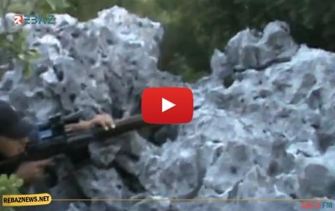 براميل متفجرة تستهدف محور كبانة وريف إدلب