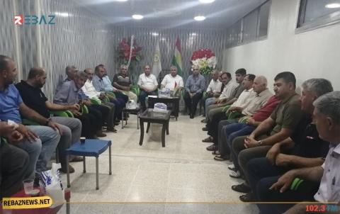 قامشلو.. ندوة سياسية تنظيمية في المكتب الشرقي لـPDK-S
