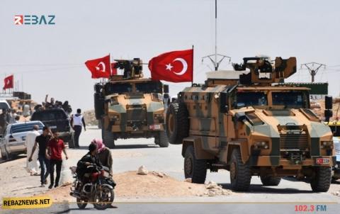تركية تُثبت ثلاث نقاط جديدة لقواتها على طريق