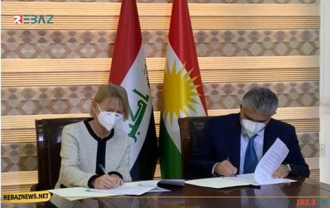 كوردستان توقع اتفاقية شراكة مع مفوضية الأمم المتحدة للاجئين