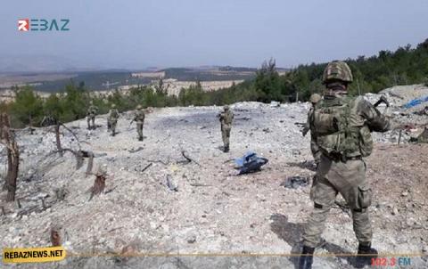 مقتل عدد من الجنود الأتراك ومسلحين موالين بانفجار سيارة مفخخة في ريف الرقة