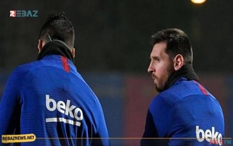 ميسي يعود لتدريبات برشلونة ورسالة