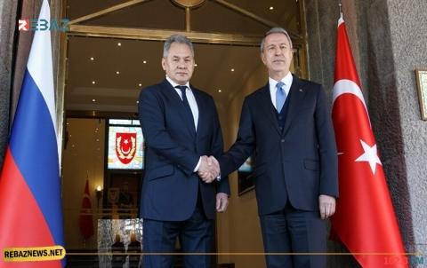 وزيرا الدفاع الروسي والتركي يبحثان هاتفياً الوضع بكوردستان سوريا
