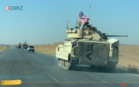 مراسلنا: رتل أمريكي تمركز في بلدة تل تمر