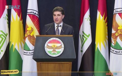 رسالة شكر من الرئيس نيجيرفان بارزاني للديمقراطي الكوردستاني - سوريا
