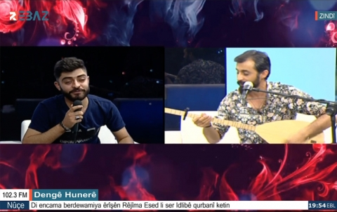 الفنان : جوان مراد و عبدالرحمن خيركي