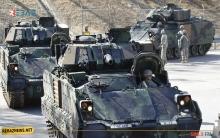 التحالف الدولي يكشف نيته نقل مركبات مشاة قتالية من نوع