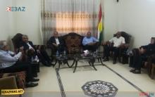الكوردستاني - سوريا يعقد سلسلة اجتماعات في قامشلو