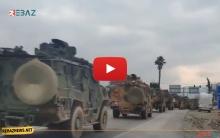 تركيا تستقدم رتل عسكري جديد إلى إدلب