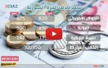 اللیرة السورية تواصل الهبوط مقابل الدولار الأمريكي