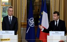 ماكرون: التدخل التركي في سوريا يطرح أسئلة كبيرة أمام الناتو