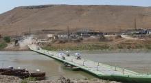 غرق قارب على متنها شخصين في معبر سيمالكا
